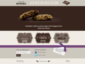 peekaboo brownies